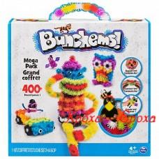 Конструктор-липучка Bunchems - Mega Pack, 400 деталей